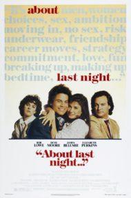 ดูหนังออนไลน์ฟรี About Last Night (1986) รักนี้…ยากจะบอกเธอ หนังเต็มเรื่อง หนังมาสเตอร์ ดูหนังHD ดูหนังออนไลน์ ดูหนังใหม่