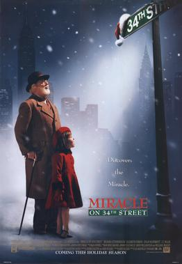ดูหนังออนไลน์HD Miracle on 34th Street (1994) ปาฏิหารย์บนถนนที่ 34 หนังเต็มเรื่อง หนังมาสเตอร์ ดูหนังHD ดูหนังออนไลน์ ดูหนังใหม่