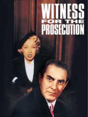 ดูหนังออนไลน์ฟรี Witness for the Prosecution (1957) หักเหลี่ยมทนาย หนังเต็มเรื่อง หนังมาสเตอร์ ดูหนังHD ดูหนังออนไลน์ ดูหนังใหม่