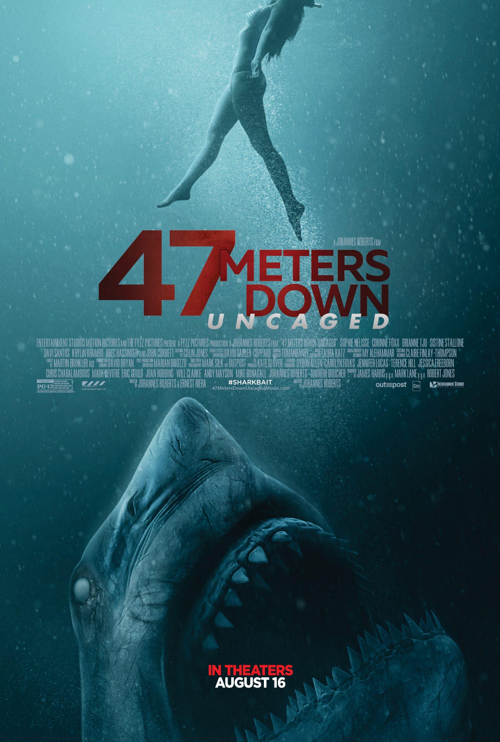 ดูหนัง 47 Meters Down (2017) 47 ดิ่งลึกเฉียดนรก