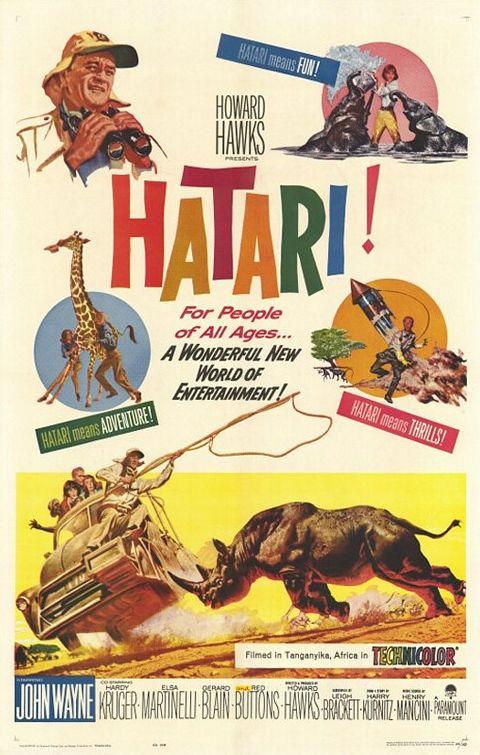 ดูหนังออนไลน์HD Hatari (1962) ฮาตาริ หนังเต็มเรื่อง หนังมาสเตอร์ ดูหนังHD ดูหนังออนไลน์ ดูหนังใหม่